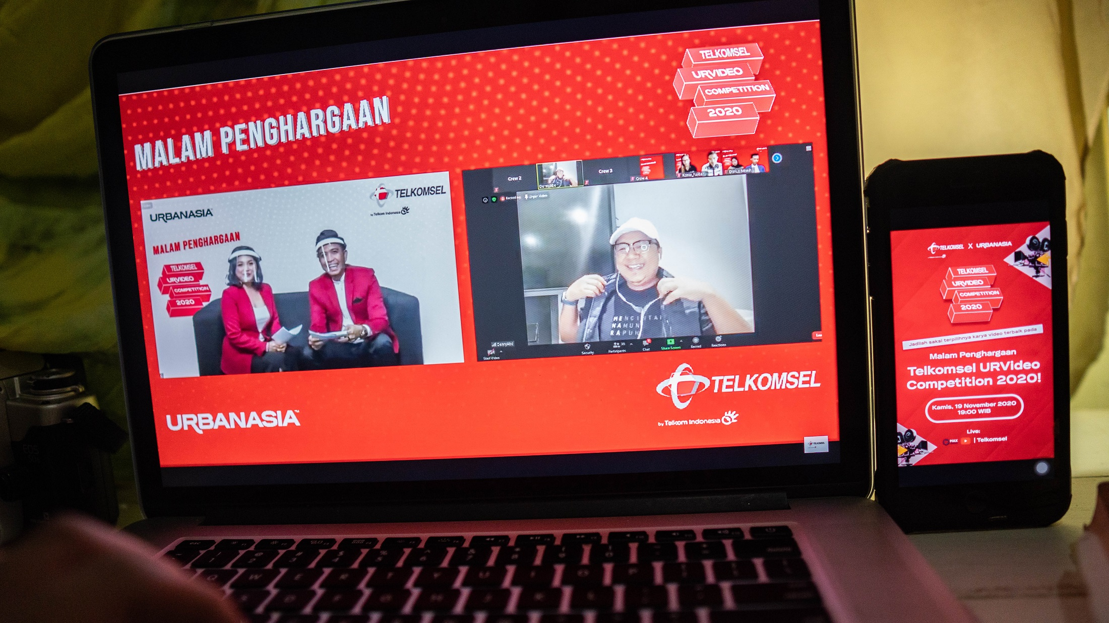 TELKOMSEL URVIDEO COMPETITION 2020-1