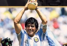 "Photo of Maradona ""Gol Tangan Tuhan"" Tutup Usia"
