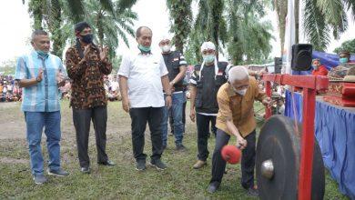 Photo of Bupati Asahan Buka Gebyar Seni Budaya Reog Gembong Bawono