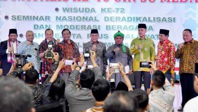 Photo of Presiden Alumni UINSU: Haqqul Yakin Rektor Prof Syahrin Tegakkan Moral Akademik