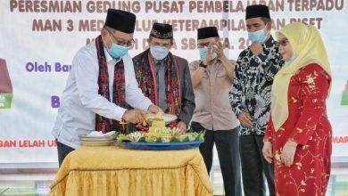 Photo of Akhyar Resmikan Gedung PPT MAN 3 Medan