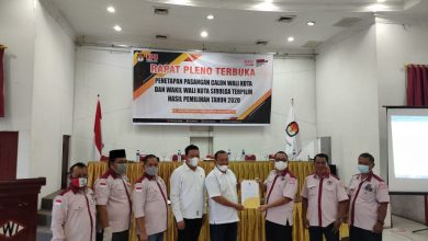Photo of KPU Tetapkan Jamaluddin dan Pantas Sebagai Wali Kota dan Wakil Wali Kota Terpilih Sibolga