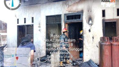Photo of Pangkalan Gas Jalan Balam Terbakar
