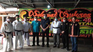 Photo of Ketua PWI Sumut Dapat Sabuk Hitam di HUT ke 49 Kala Hitam
