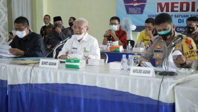 Photo of Bupati Asahan Pimpin Rakor Satgas Penanganan Covid-19