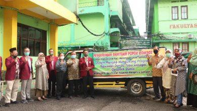 Photo of Dukung Danau Toba Jadi Geopark Dunia, UISU Serahkan Bantuan Pupuk 1 Ton ke Haranggaol