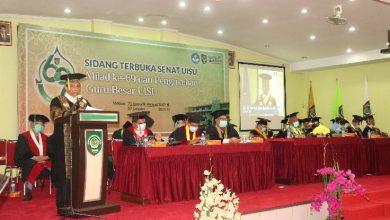 Photo of Sabtu, UISU Lantik 836 Wisudawan