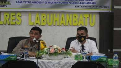 Photo of Polres Labuhanbatu Silaturahmi bersama Nahdlatul Ulama