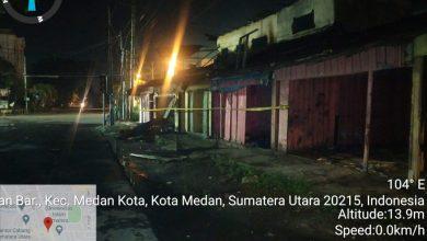 Photo of 8 Unit Kios Kosong Terbakar