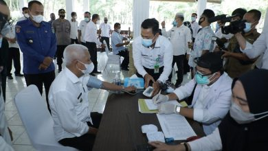 Photo of Bupati Asahan dan Forkopimda Laksanakan Pencanangan Vaksinasi Covid-19