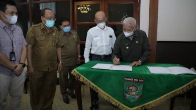 Photo of Penandatanganan Persetujuan Dokumen RTD PT Inalum (Persero) Dengan Bupati Asahan