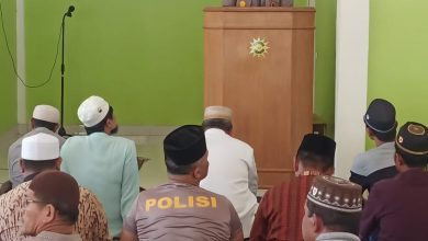 Photo of Kapolsekta Kotapinang Silaturahmi Dengan Tokoh Agama