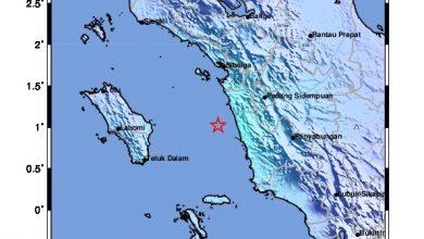 Photo of Tapsel Diguncang Gempa Tektonik M5,1, Tidak Berpotensi Tsunami
