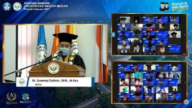 Photo of Unimed Wisuda 1.580 Lulusan Secara Daring