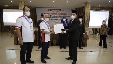Photo of KPU Rapat Pleno Terbuka Penetapan Paslon Bupati dan Wakil Bupati Asahan Terpilih