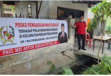 Photo of Anggota DPRD Medan Buka Posko Pengaduan Tampung Keluhan Pergantian Kepling