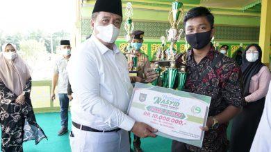 Photo of Wabup Tutup Festival Seni Nasyid Tingkat Kabupaten Asahan Tahun 2021, Ini Pemenangnya