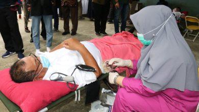 Photo of Akhyar Ikut Donor Darah di Kampung Sejahtera