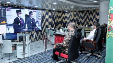 Photo of Sekda Ikuti Pelantikan Wali Kota dan Wakil Wali Kota Medan Secara Virtual