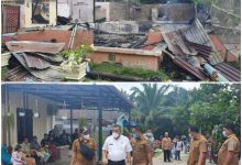 Photo of Plh Bupati Labuhanbatu Tinjau Warga Korban Kebakaran