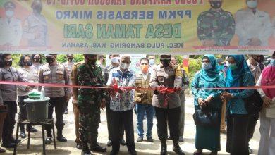 Photo of Bupati Asahan Resmikan Desa Taman Sari Sebagai Kampung Tangguh Berbasis Mikro