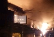 Photo of Belasan Unit Ruko di Kotapinang Terbakar