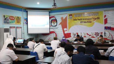 Photo of KPU Medan Gelar Rakor DPB Bersama Parpol