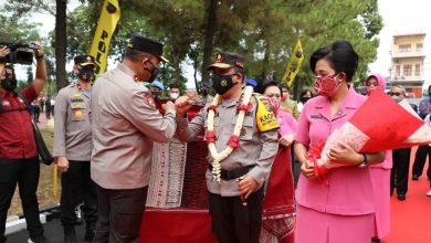 Photo of Tiba di Mapolda, Irjen Pol Panca Putra Disambut Tarian Daerah Etnis Sumut