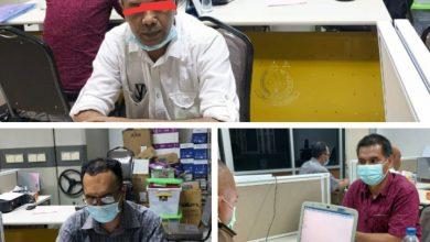 Photo of Kejatisu Tahan Tiga Tersangka Dugaan korupsi di Kabupaten Humbahas