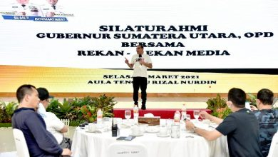 Photo of Bangun Sinergi, Gubsu Silaturahmi Bersama Insan Pers