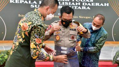 Photo of Gubernur Ajak Kapolda Ukir Sejarah untuk Sumut