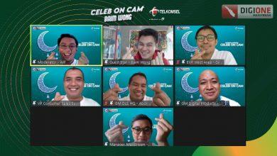 Photo of Semarakan Ramadan, Telkomsel Gelar Celeb on Cam Ngobrol Seru Bareng Baim Wong