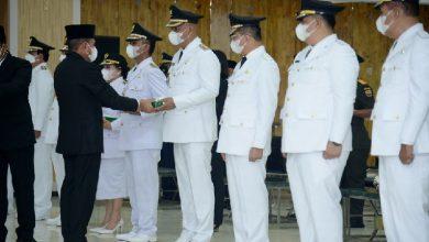 Photo of Melantik Disaat Duka, Para Kepala Daerah Sebut Gubsu Sosok Negarawan yang Patut Diteladani