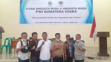 Photo of 5 Wartawan Madina Ikut Ujian Anggota Muda PWI