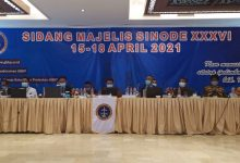 Photo of Pdt Krismas Imanta Barus MTh LM Pimpin Moderamen GBKP Periode 2020 -2025