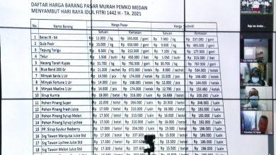 Photo of 151 Titik Pasar Murah Kota Medan Sambut Ramadan dan Idul Fitri 1442 H