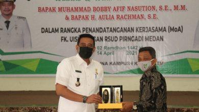 Photo of Kerjasama dengan RSUD Pirngadi, Bobby Nasution: Saya Berterima Kasih Kepada UISU