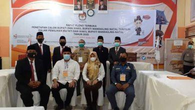 Photo of KPU Madina Tetapkan Bupati dan Wakil Bupati Terpilih