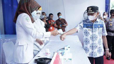 Photo of Bupati Asahan Tinjau Pos Penyekatan Larangan Mudik
