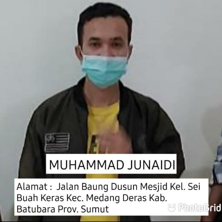 Seorang Tahanan BNNP Sumut