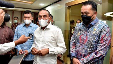 Photo of Rahmat Fadilah Pohan dan Brata Kusuma Calon Dirut Baru Bank Sumut