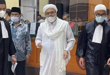 Photo of Habib Rizieq Dituntut 10 Bulan Penjara
