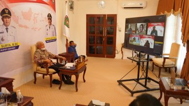 Photo of Bupati Asahan Ikuti Pembekalan Kepemimpinan Pemerintahan Dalam Negeri Secara Virtual