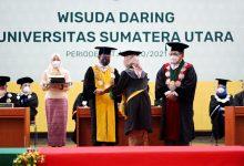 Photo of USU Wisuda 2.401 Lulusan, Rektor: Masa Pandemi Harus Jeli Lihat Peluang dan Kreatif
