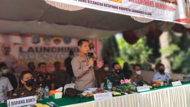 Photo of Kapolres Labuhanbatu Hadiri Launching Kampung Tangguh Anti Narkoba di Kotapinang