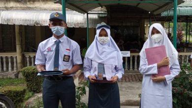 Photo of Tiga Anggota Paskibraka Provinsi Sumut Dari Madina