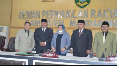 Photo of DPRD Madina Usulkan Pengangkatan dan Pemberhentian Bupati – Wakil Bupati