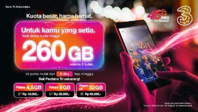 Photo of 3 Indonesia LengkapiKebutuhan Akses DigitalMasyarakatdi Kota Medan