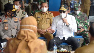 Photo of Gubsu, Kapolda dan Pangdam Pantau PPKM Diperketat di Sibolga