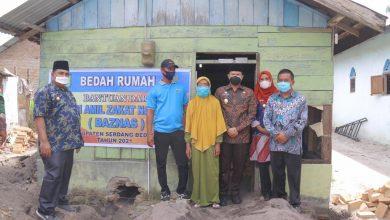 Photo of Pemkab – Baznas Bedah 10 Rumah Warga Sergai
